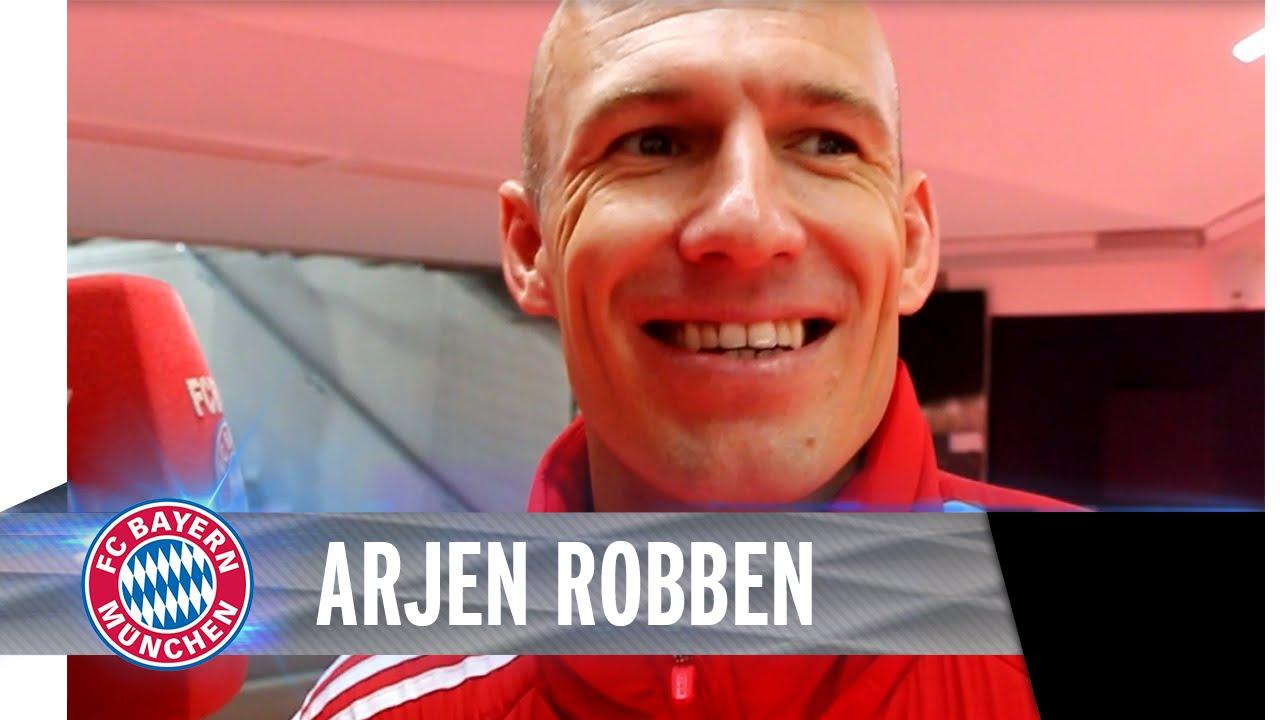 Arjen Robben im Blitzinterview