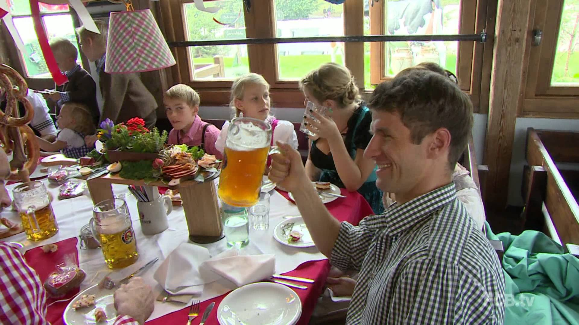 FC Bayern @ Oktoberfest 2014