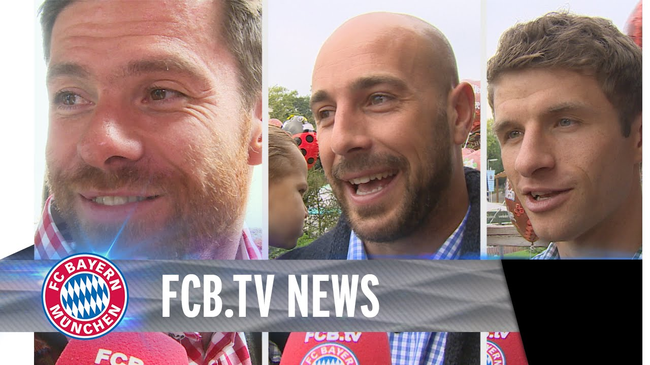 FC Bayern @ Wiesn 2014