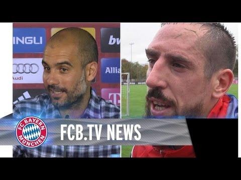 FCB vor Bremen, Ribéry bereit