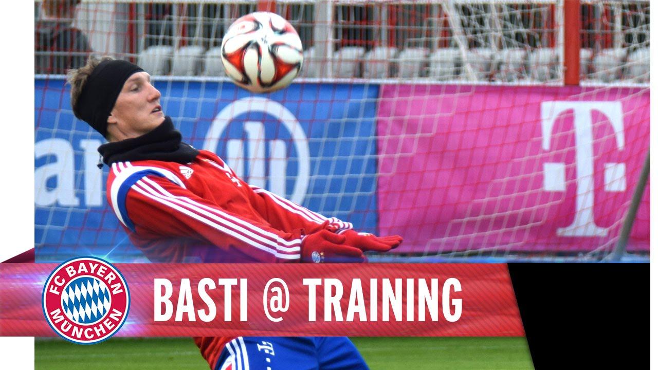 Schweinsteiger Training