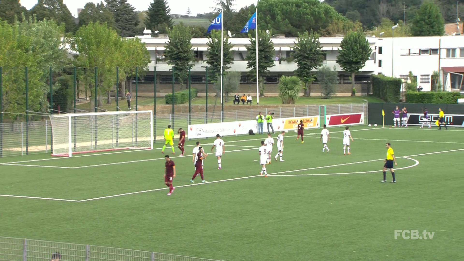 UEFA Youth League AS Rom vs. FC Bayern