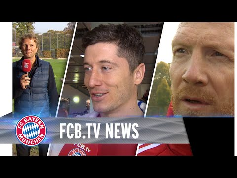 FCB-Training in Hamburg, BVB im Blick