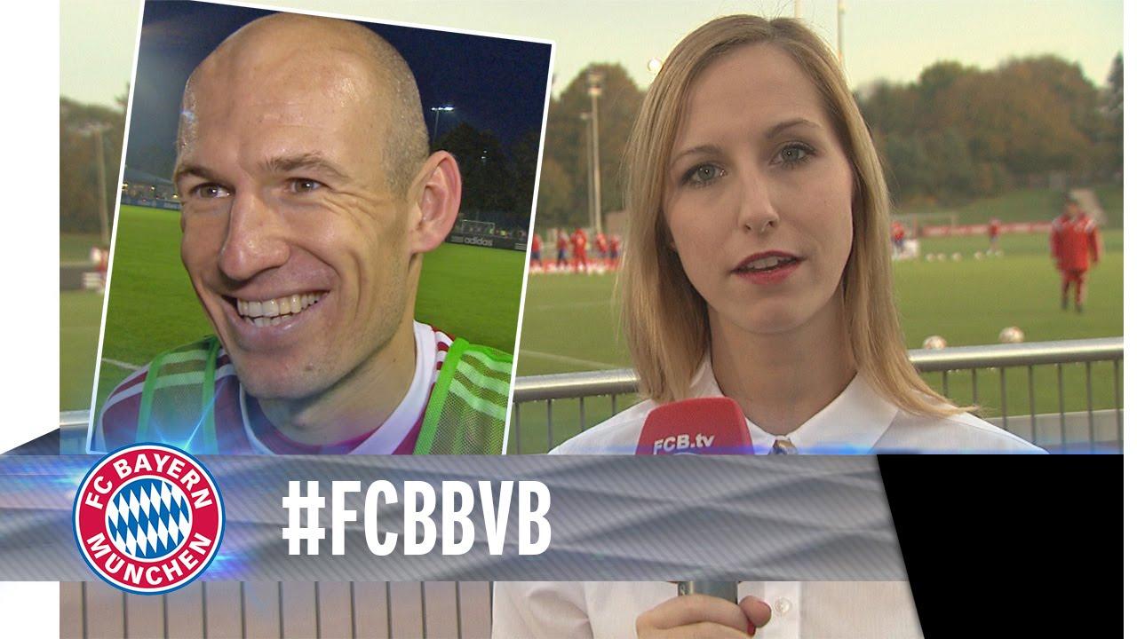 Bayern preps for Dortmund
