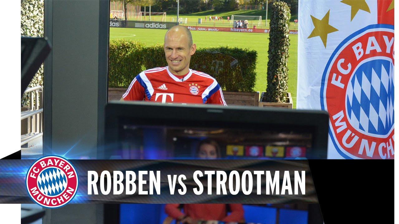Hangout Arjen Robben vs. Strootman