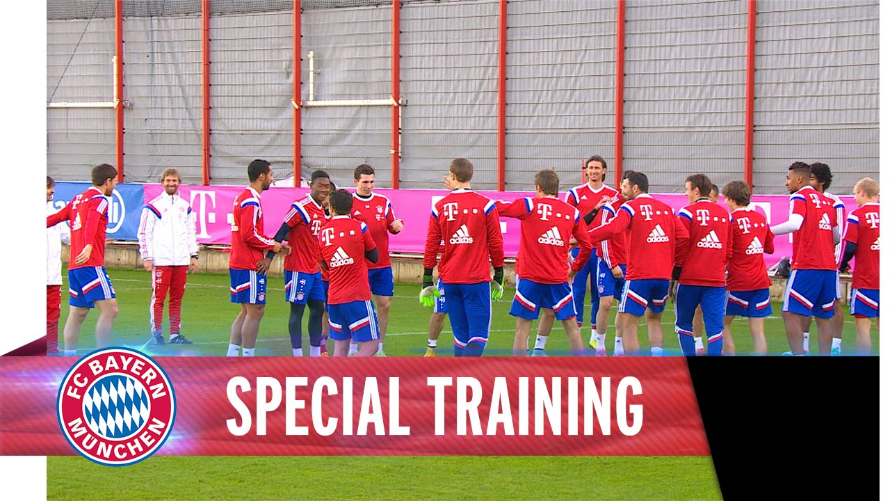 Special Training with Xabi Alonso, Thomas Müller & Co.