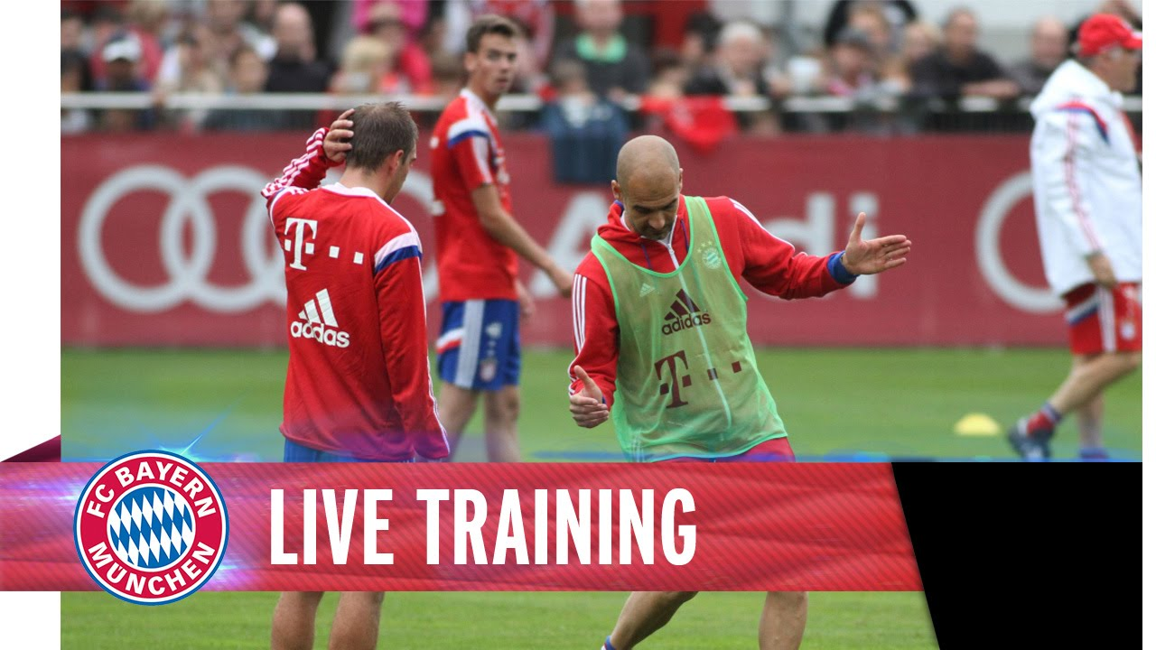 FC Bayern Live Training