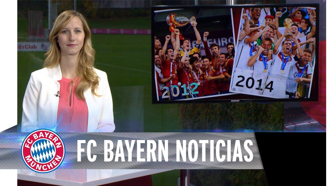 Lo más nuevo del FC Bayern Múnich en español (English subtitles)
