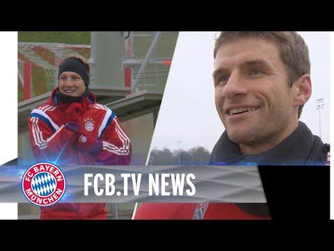 Schweinsteiger vor Comeback, Müller fit