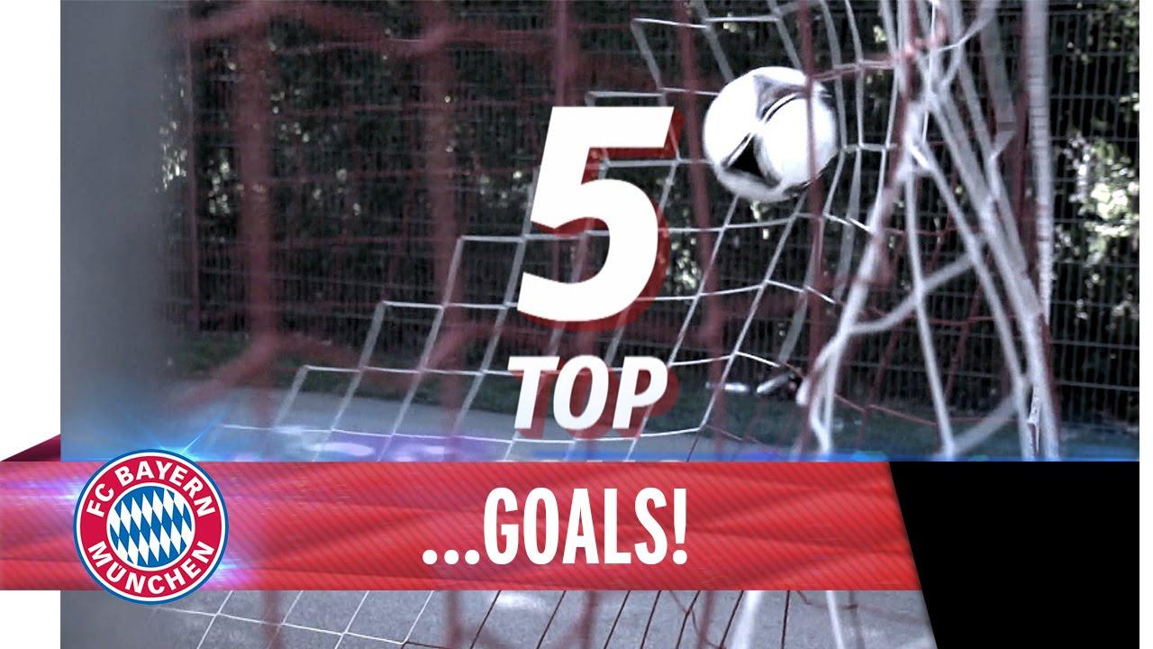 Top 5 Goals FC Bayern - Autumn