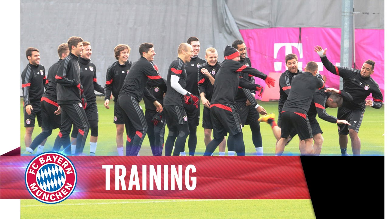 Training Session I Champions League I ManCity