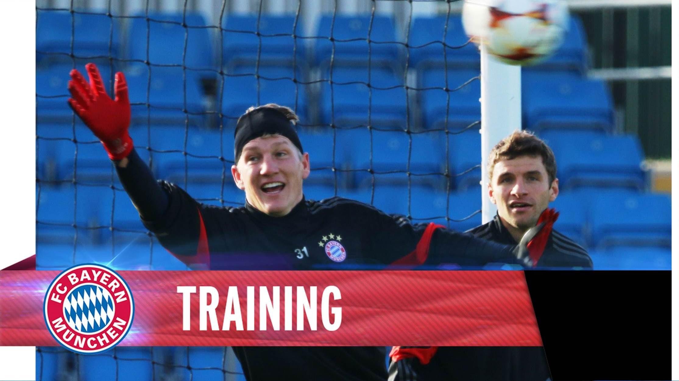 Schweinsteiger as goalie