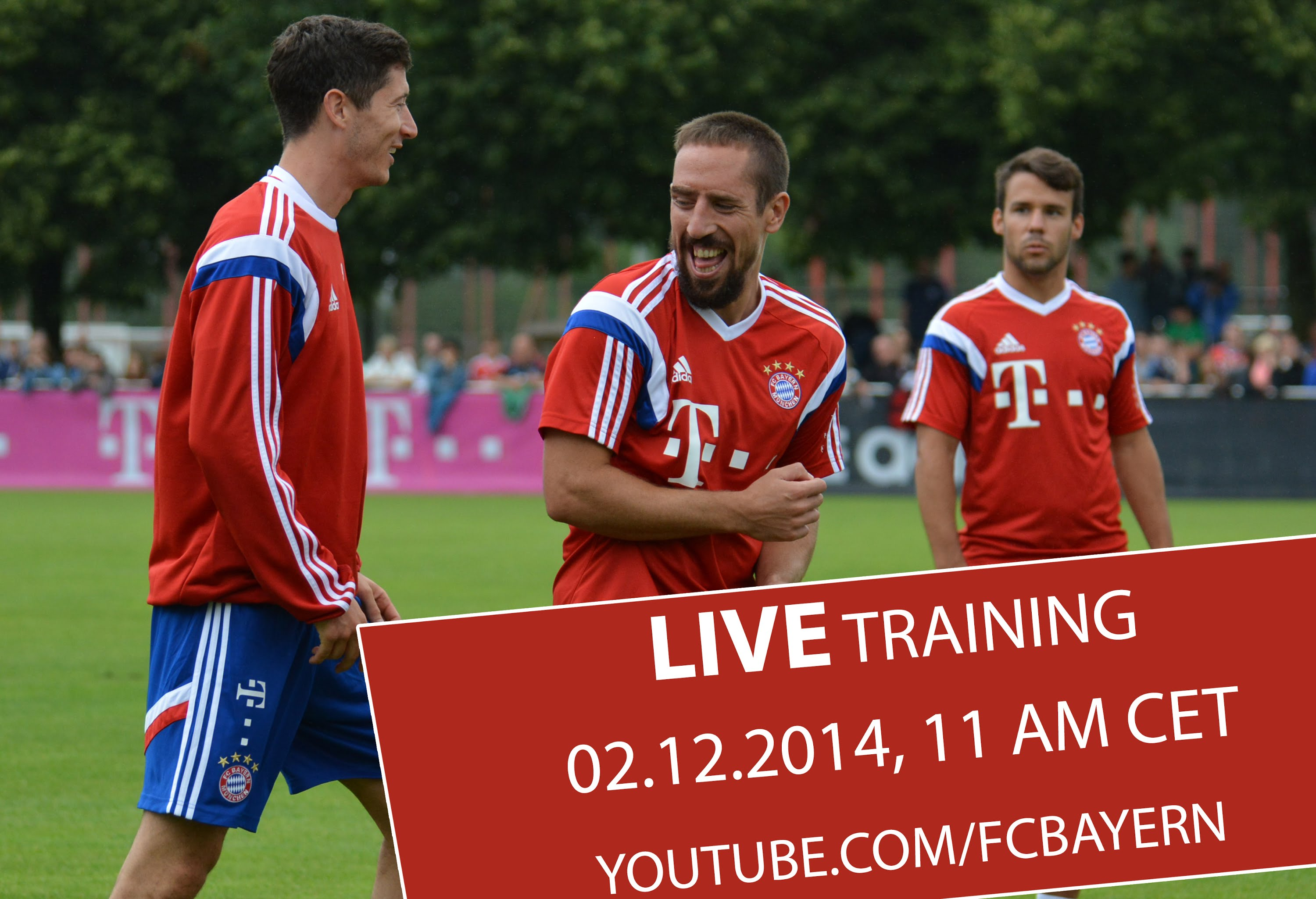 FC Bayern Live Training - ReLive