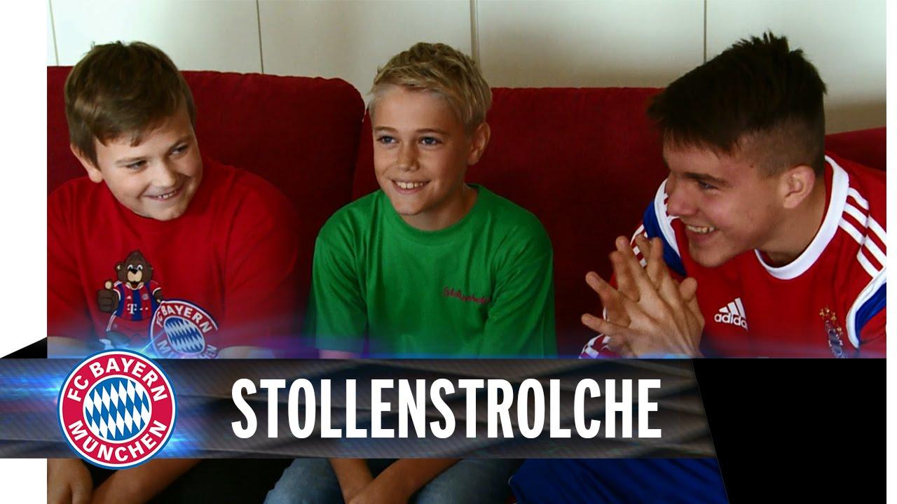 Stollenstrolche besuchen FCB-Internat