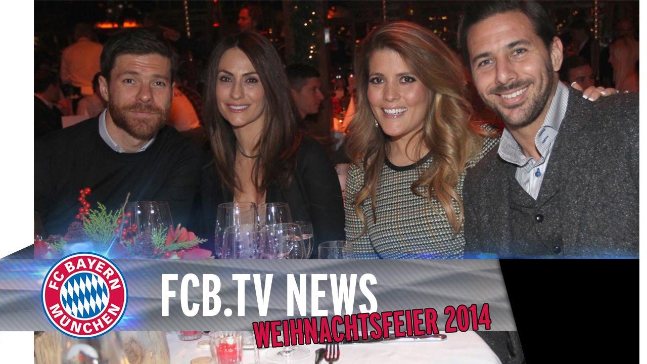 FC Bayern Weihnachtsfeier