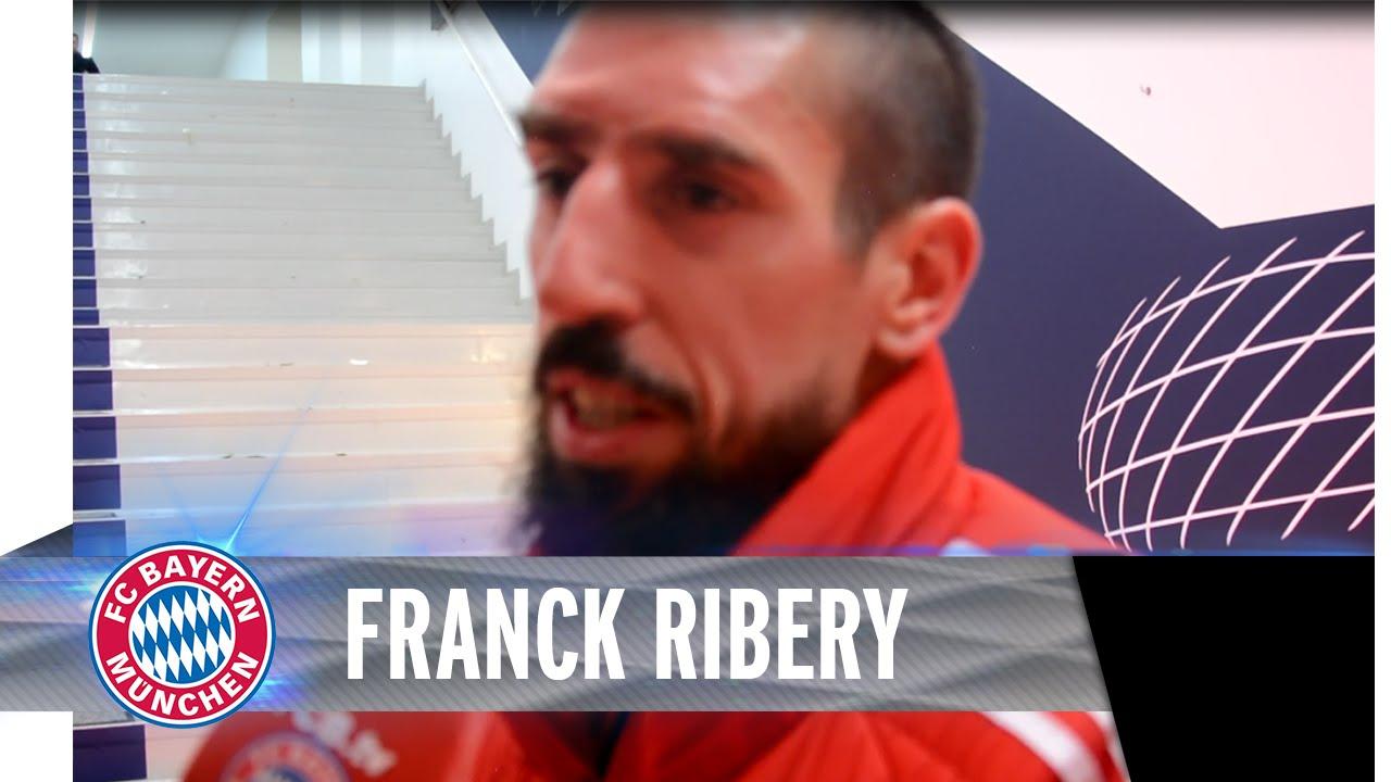 100. Tor für den FCB - Franck Ribéry im Blitzinterview