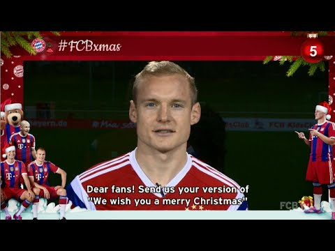 #FCBxmas - 5: Sing and win a signed jersey