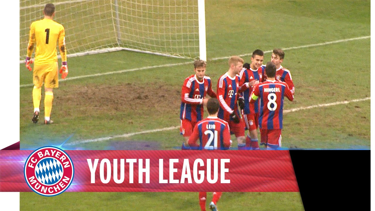 UEFA Youth League FC Bayern 3 - 2 ZSKA Moskau