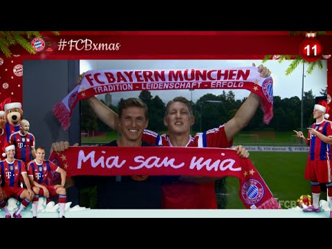 #FCBxmas - 11: Fun with Schweinsteiger brothers