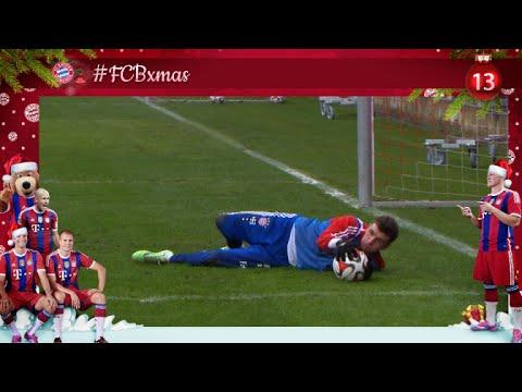 #FCBxmas - 13: Müller as Goalie