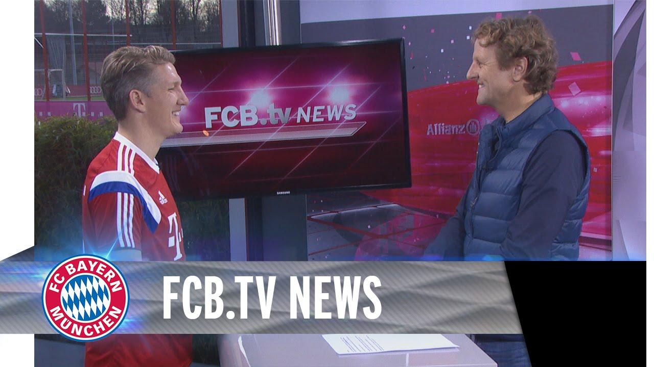 Bastian Schweinsteiger in den FCB.tv News