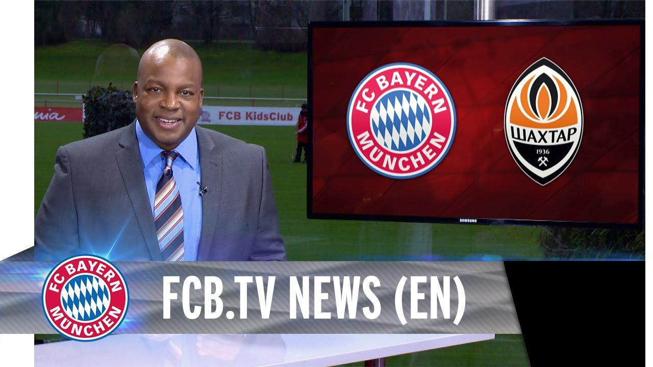 UEFA CL round of 16: FC Bayern vs Shakhtar Donetsk