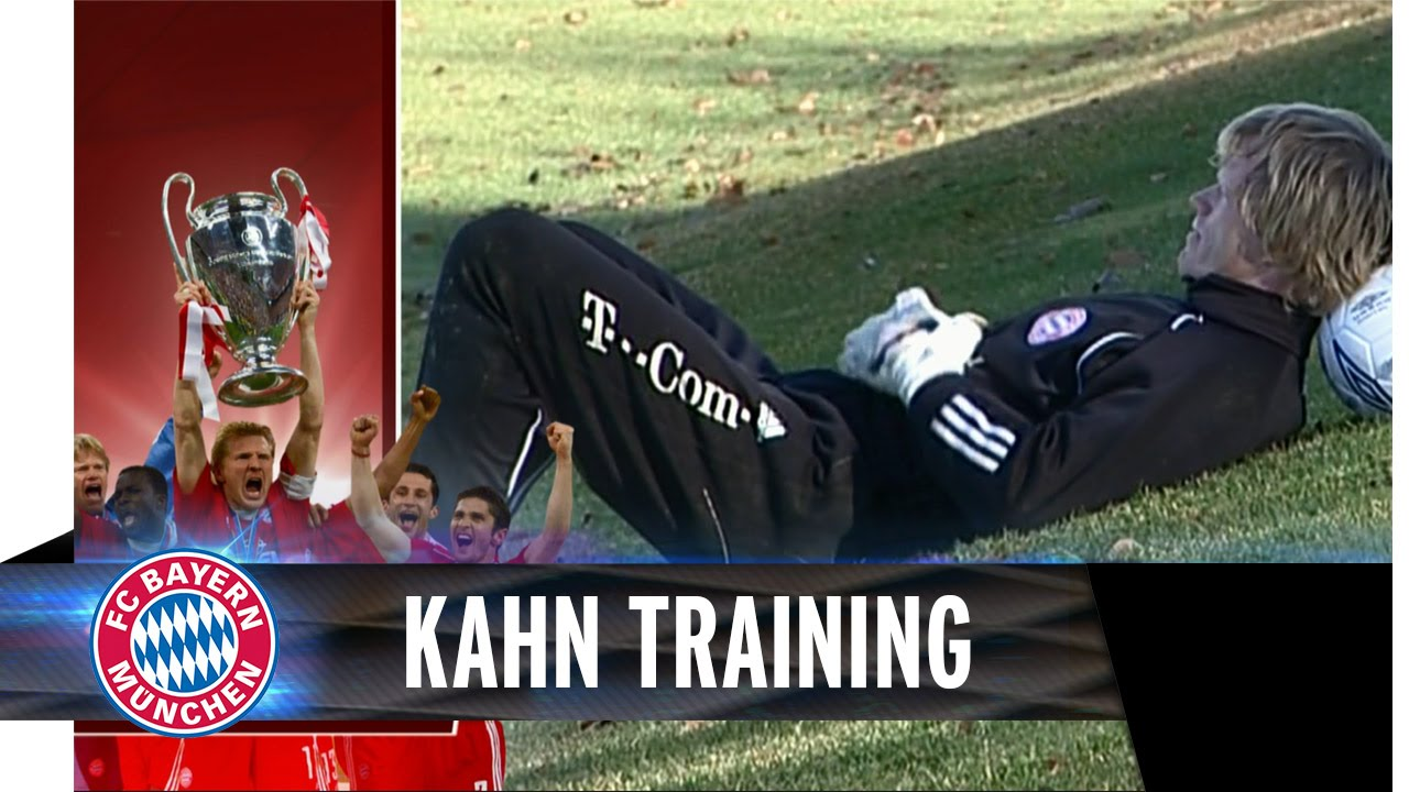 Training with Oliver Kahn