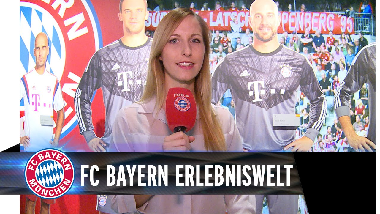 INSIDE FC Bayern Erlebniswelt
