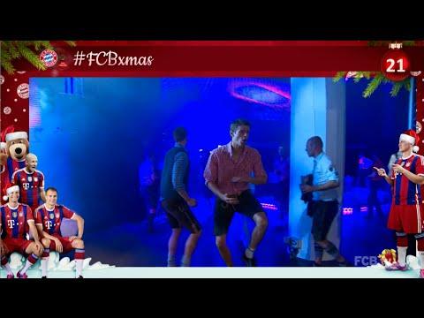 #FCBxmas - 21: Dancing with FCB stars