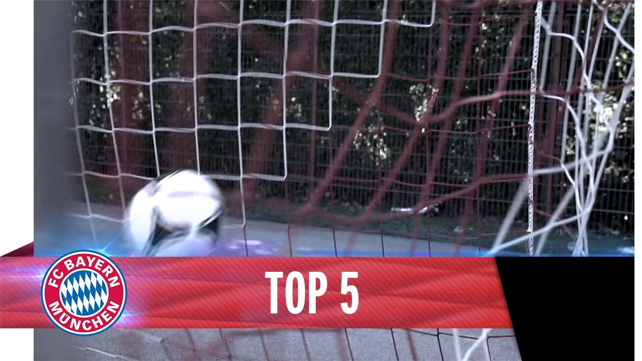 Top 5 Amazing Free Kicks