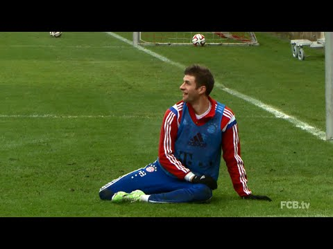 Müller as Goalie
