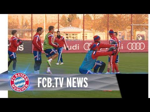 FCB trainiert wieder in München