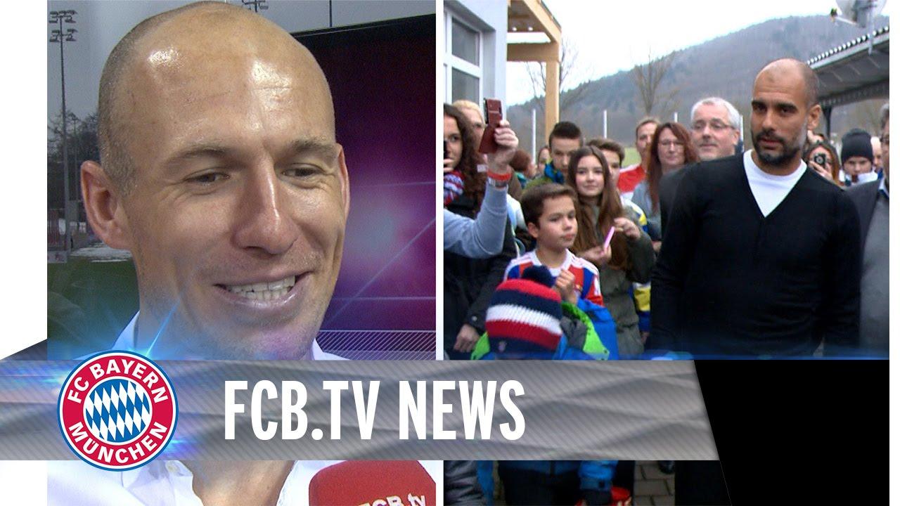 FC Bayern nach Bochum, Fanclub-Besuche