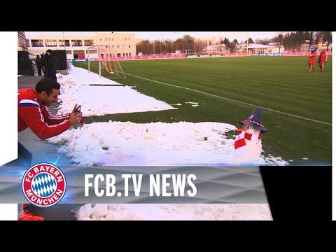 FCB nach Wintereinbruch, Müller vor BL-Start