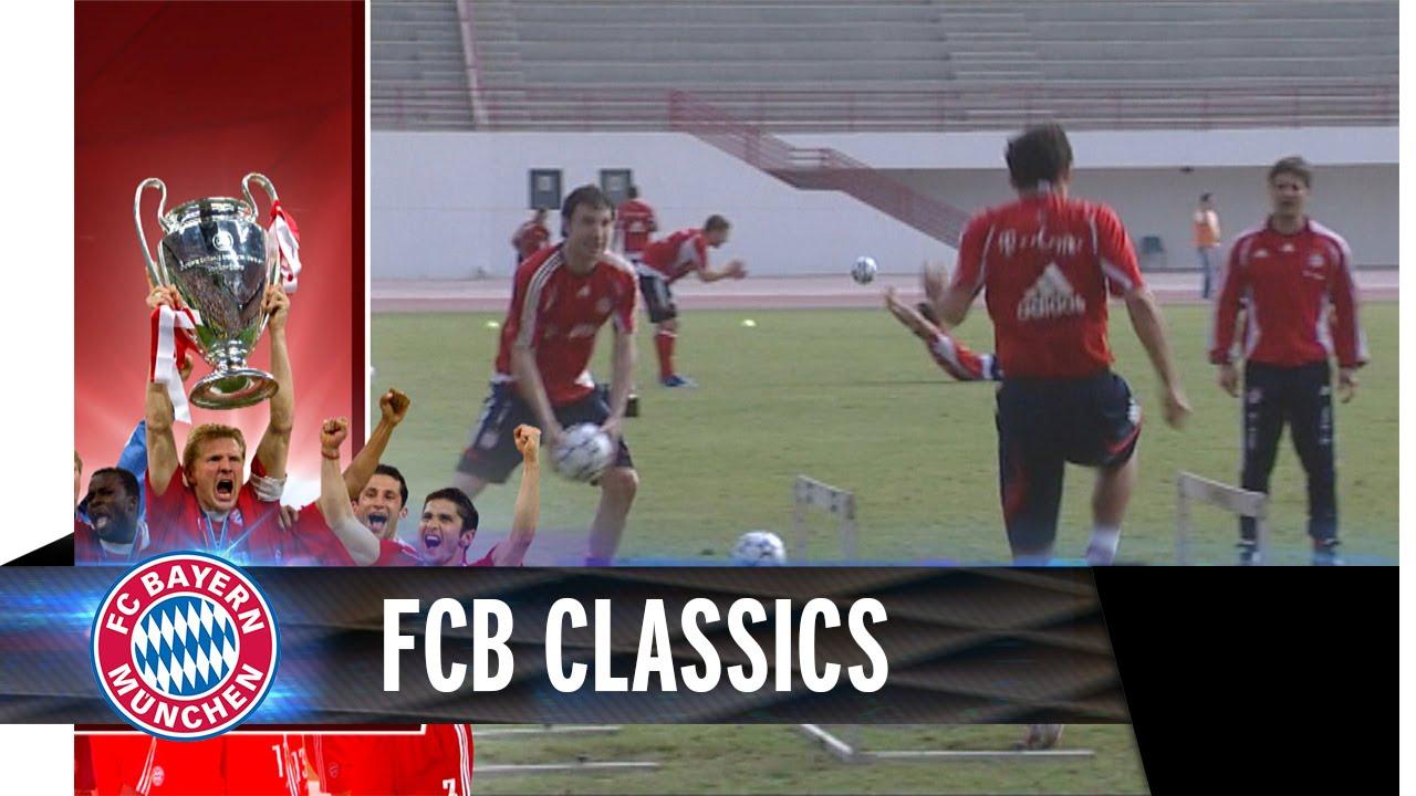 Funny Brazzo in FC Bayern Training