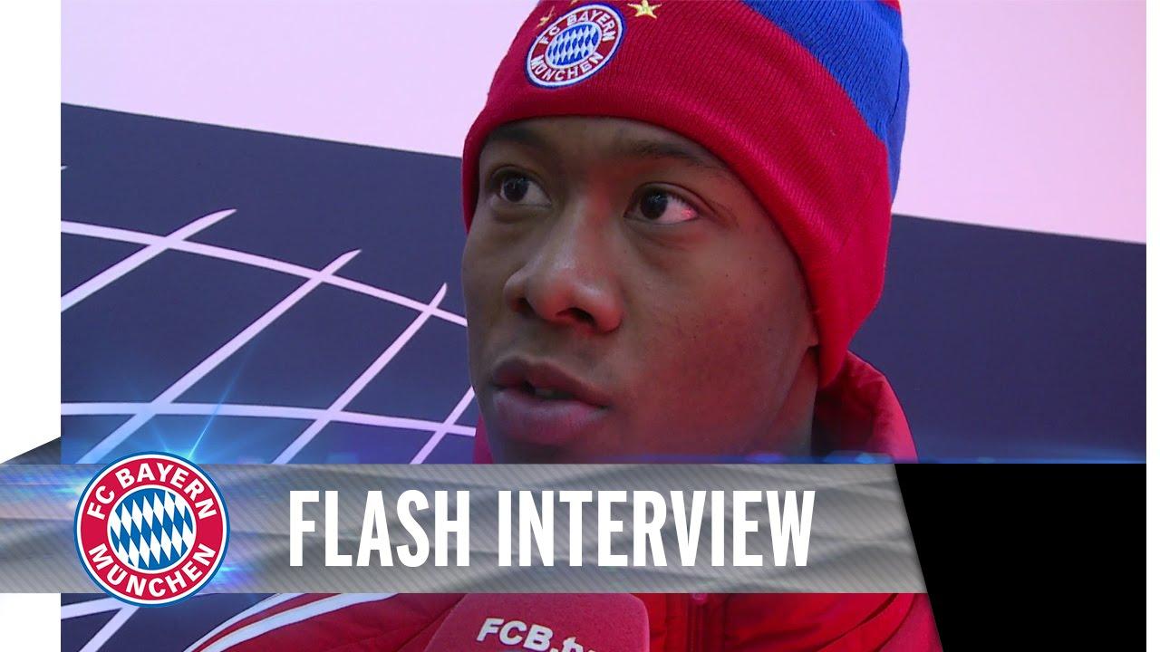 David Alaba nach Schalke-Spiel