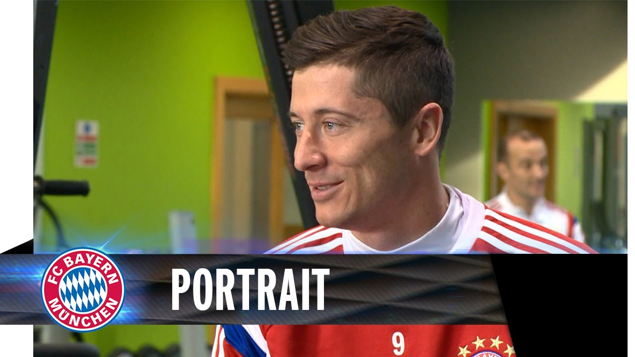 Robert Lewandowski Portrait