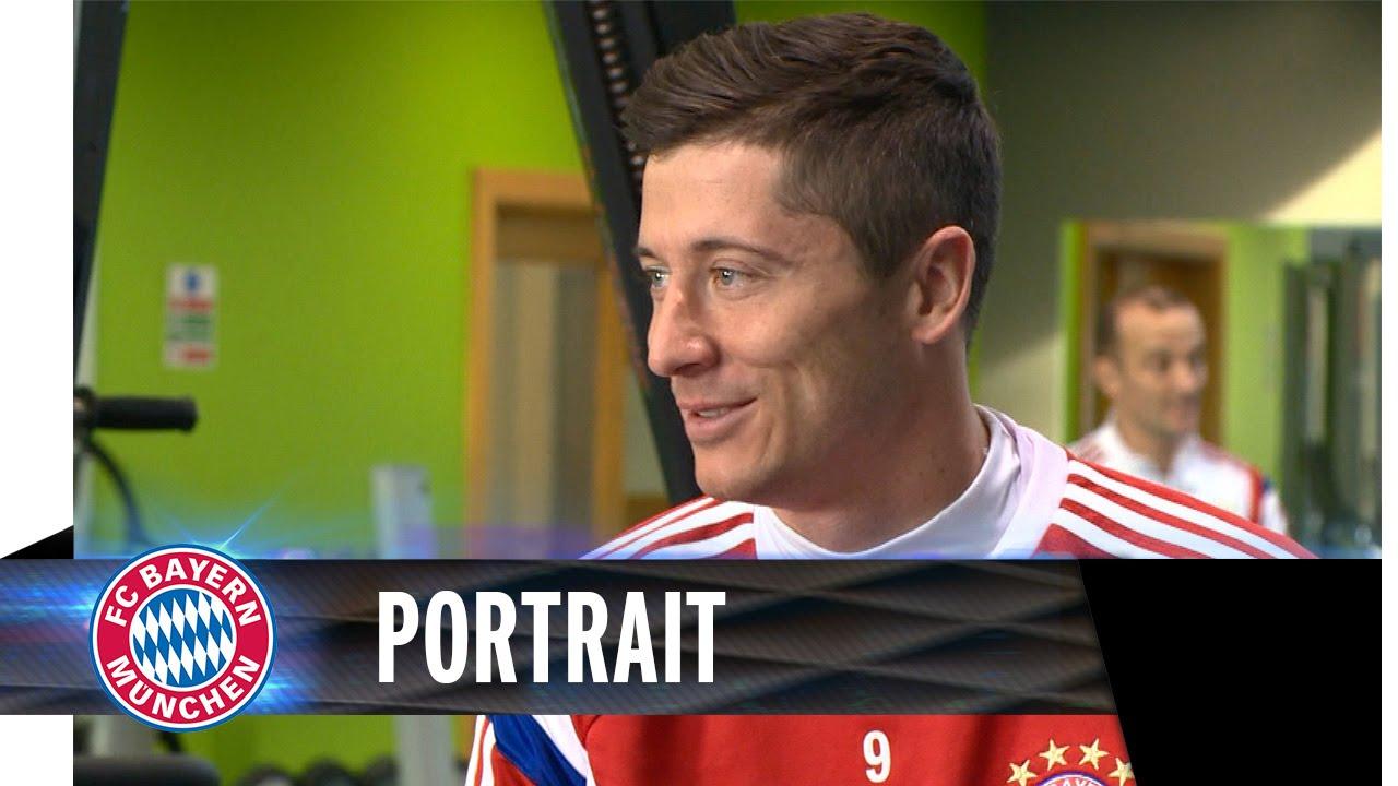 Robert Lewandowski Portrait