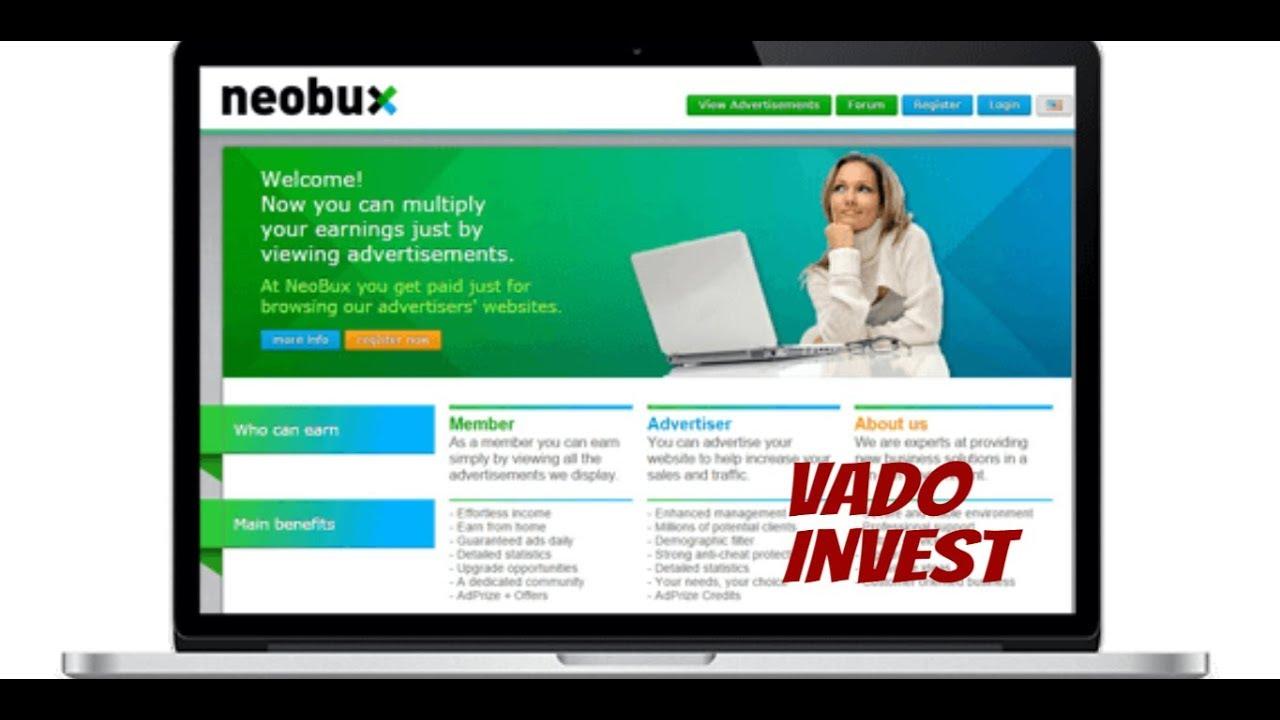 Neobux: возможности для заработка